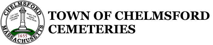 Town of Chelmsford Cemeteries Logo